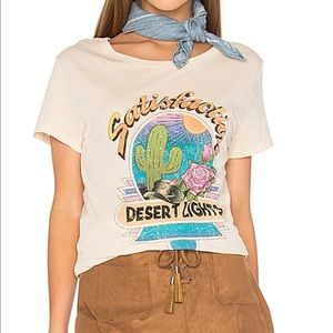 Women's Spell & the Gypsy short sleeve tee desert